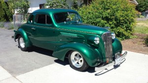 John Webster's 37 Chev